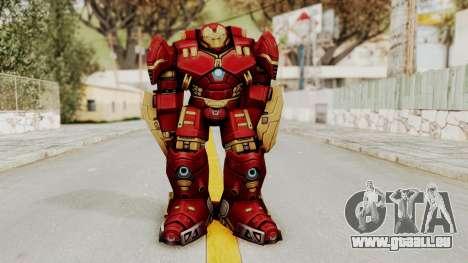 Marvel Future Fight - Hulkbuster pour GTA San Andreas deuxième écran
