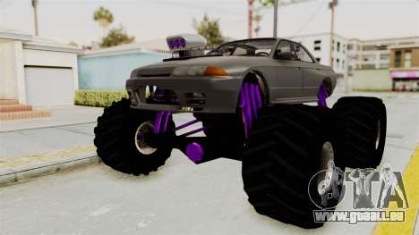 Nissan Skyline R32 4 Door Monster Truck pour GTA San Andreas