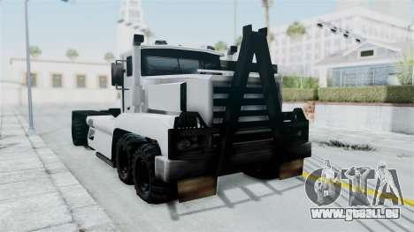 Roadtrain 8x8 v1 für GTA San Andreas rechten Ansicht