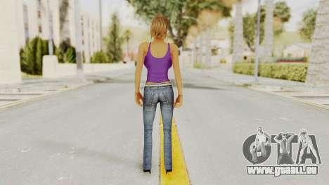Busty Girl für GTA San Andreas dritten Screenshot