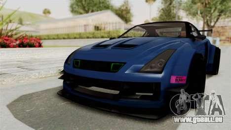 GTA 5 Annis Elegy Twinturbo Spec für GTA San Andreas