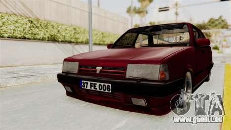 Tofas Dogan 1.6 pour GTA San Andreas vue de droite