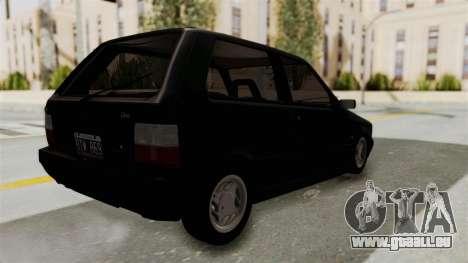 Fiat Uno pour GTA San Andreas laissé vue