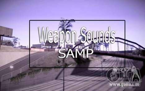 Weapon Sounds für GTA San Andreas