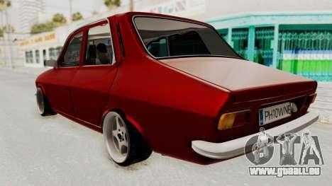 Dacia 1310 WNE pour GTA San Andreas sur la vue arrière gauche