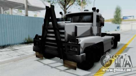 Roadtrain 8x8 v1 pour GTA San Andreas