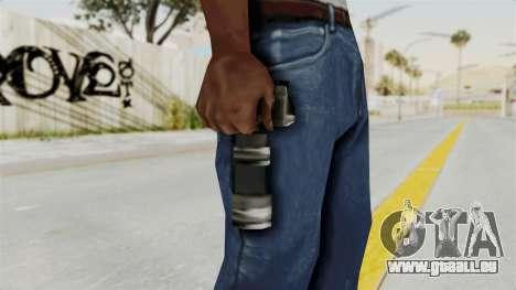 Metal Slug Weapon 6 pour GTA San Andreas troisième écran