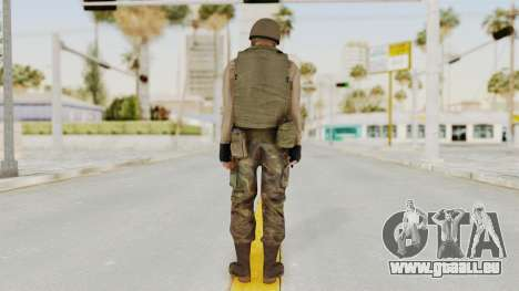 MGSV Phantom Pain RC Soldier Vest v1 für GTA San Andreas dritten Screenshot