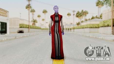 Mass Effect Council Tevos pour GTA San Andreas deuxième écran