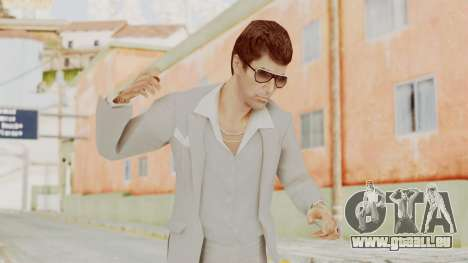 Scarface Tony Montana Suit v1 with Glasses pour GTA San Andreas