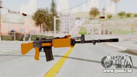 IOFB INSAS Plastic Orange Skin pour GTA San Andreas