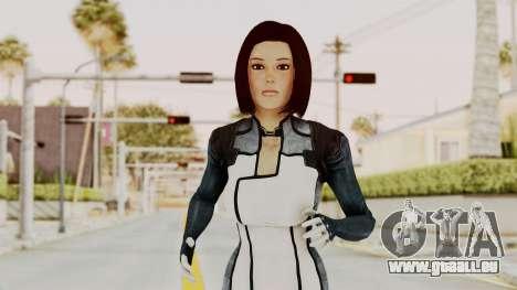 Mass Effect 3 Dr. Eva New Short Hair pour GTA San Andreas