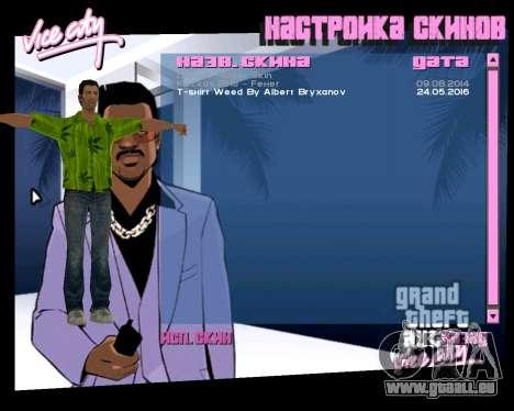 Weed T-Shirt für GTA Vice City dritte Screenshot