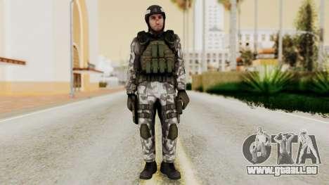Black Mesa - HECU Marine Medic v1 pour GTA San Andreas deuxième écran