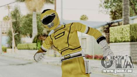 Power Rangers Turbo - Yellow pour GTA San Andreas
