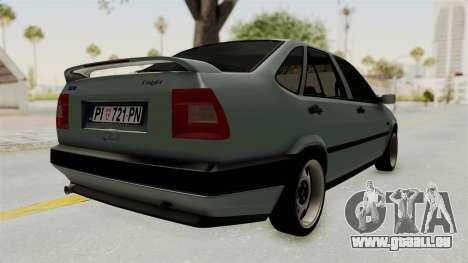 Fiat Tempra pour GTA San Andreas vue de droite