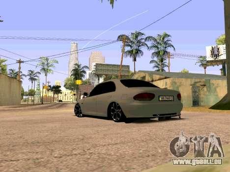 Mazda Xedos 6 pour GTA San Andreas laissé vue
