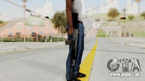 IOFB INSAS Plastic Black Skin für GTA San Andreas dritten Screenshot
