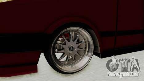 Tofas Dogan 1.6 pour GTA San Andreas vue arrière