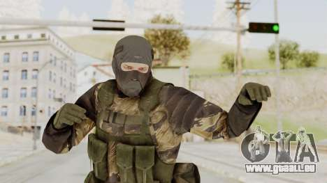 MGSV TPP Diamond Dog Combat Male pour GTA San Andreas