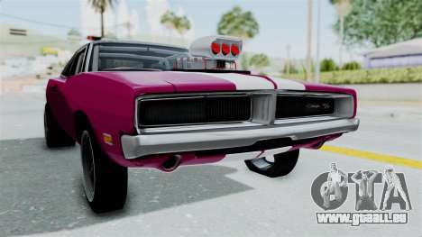 Dodge Charger 1969 Drag für GTA San Andreas