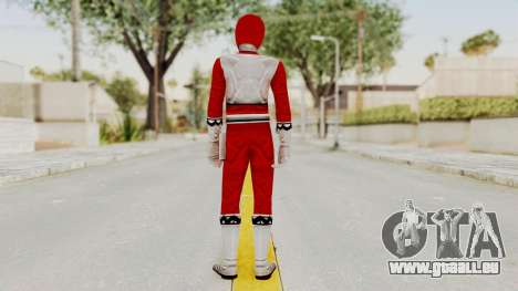 Power Rangers Lost Galaxy - Red für GTA San Andreas dritten Screenshot