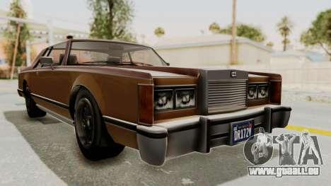 GTA 5 Dundreary Virgo Classic für GTA San Andreas