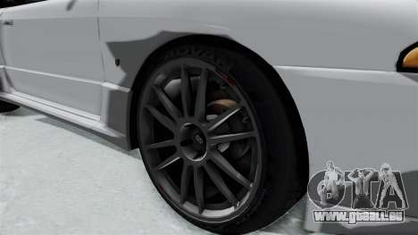 Nissan Skyline BNR32 Hot Version für GTA San Andreas Rückansicht