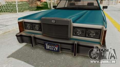 GTA 5 Dundreary Virgo Classic IVF für GTA San Andreas Rückansicht