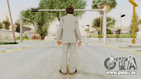 Scarface Tony Montana Suit v1 with Glasses für GTA San Andreas dritten Screenshot