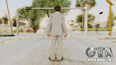 Scarface Tony Montana Suit v1 with Glasses pour GTA San Andreas troisième écran