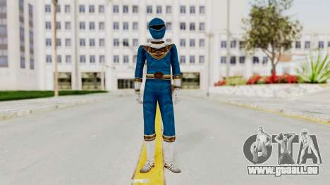 Power Ranger Zeo - Blue für GTA San Andreas zweiten Screenshot