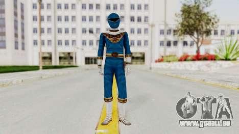 Power Ranger Zeo - Blue pour GTA San Andreas deuxième écran