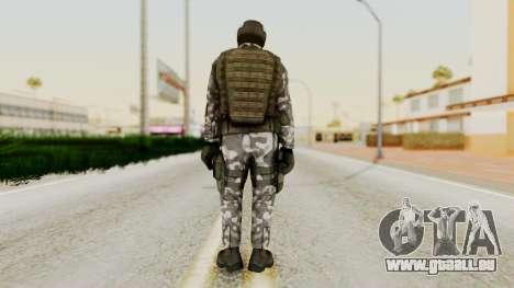 Black Mesa - HECU Marine Medic v1 pour GTA San Andreas troisième écran