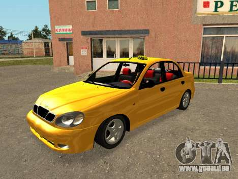Daewoo Lanos (Sens) 2004 v1.0 by Greedy pour GTA San Andreas moteur