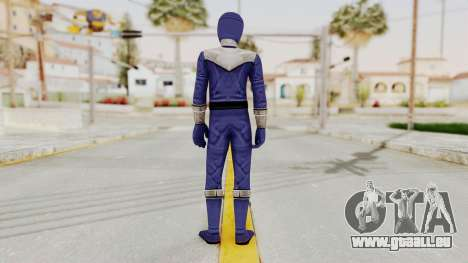 Power Rangers Time Force - Blue für GTA San Andreas dritten Screenshot
