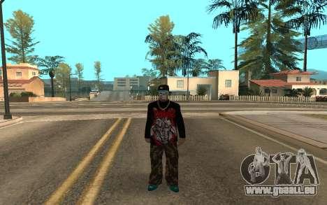 Varios Los Aztecas Gang Member v5 für GTA San Andreas