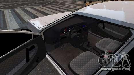 VAZ 2114 Brdoyaga pour GTA 4 Vue arrière de la gauche