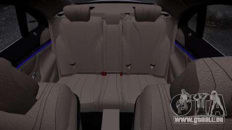 Mercedes-Benz w222 für GTA 4 Innenansicht