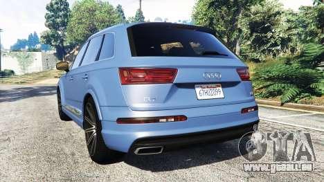 Audi Q7 2015 [rims1] pour GTA 5