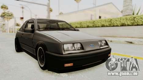 Ford Sierra Mk1 Drag Version pour GTA San Andreas
