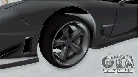 Mazda RX-7 FD3S HellaFlush pour GTA San Andreas vue arrière