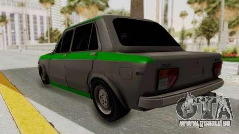 Fiat 128 De Picadas pour GTA San Andreas laissé vue