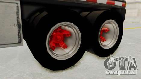 Trailer de Conbustible für GTA San Andreas rechten Ansicht