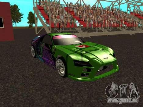 Toyota Supra Evil Empire für GTA San Andreas Innenansicht