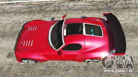 GTA 5 Devon GTX 2010 v0.1 vue arrière