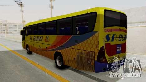 Marcopolo SP Bumi Express pour GTA San Andreas laissé vue