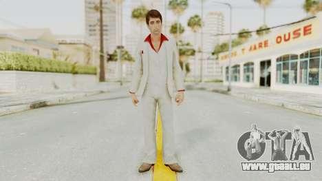 Scarface Tony Montana Suit v4 für GTA San Andreas zweiten Screenshot
