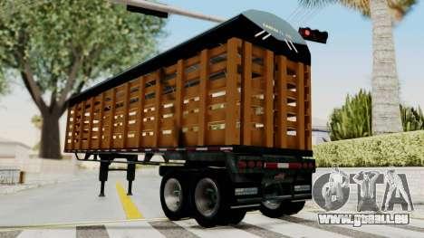Trailer de Estacas für GTA San Andreas rechten Ansicht