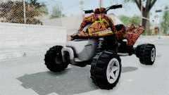 Sand Stinger from Hot Wheels Worlds Best Driver